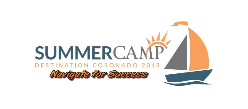 SummerCamp Destination Coronado 2018 Navigate for Success Logo